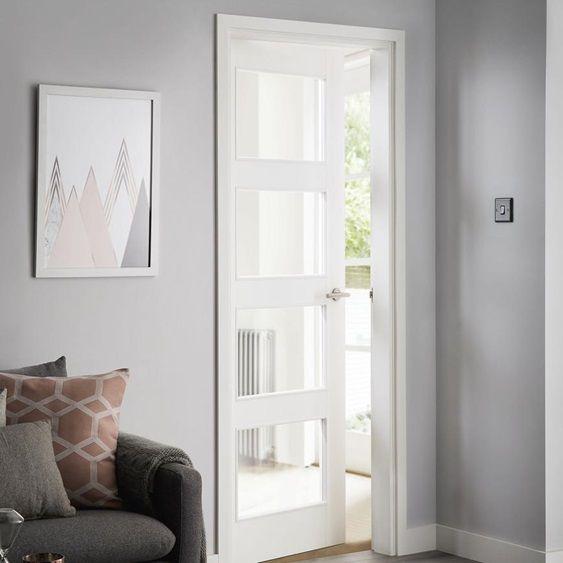 Living Room Door Ideas Advice Inspiration Howdens Joinery Internal Doors Modern Wood Doors Interior Living Room Door