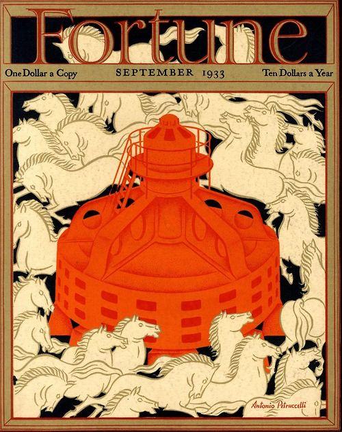 Antonio Petruccelli   Cover of Fortune magazine