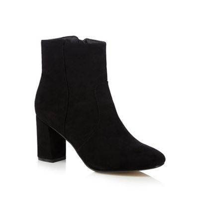 The Collection Black mid-length boots | Debenhams