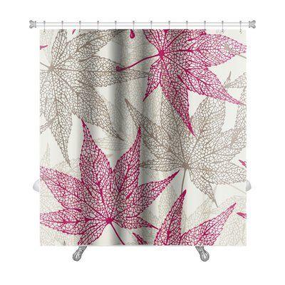 Gear New Leaves Maple Leaves Autumn Leaf Premium Single Shower