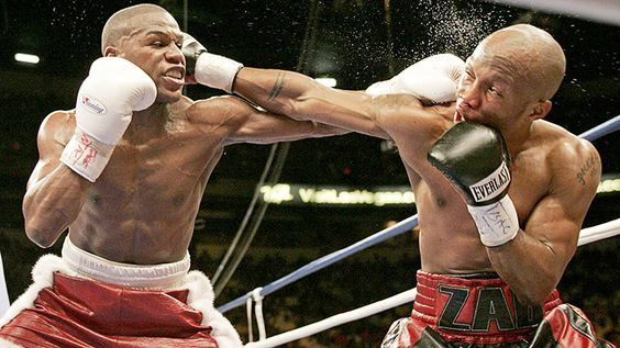 On This Day: Floyd Mayweather and Zab Judah unleash chaos in Las Vegas #History #floydmayweather #allthebelts #boxing