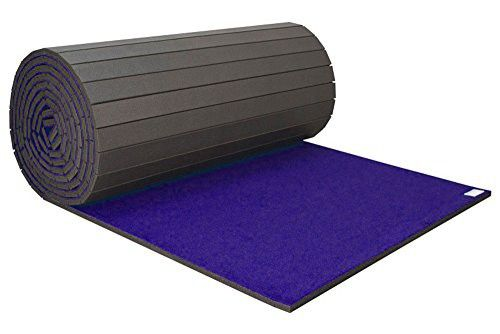 Incstores Home Cheer Carpet Top Mats Roll Out Practice Pad Practice Pads Durable Carpet Gymnastics Mats For Home
