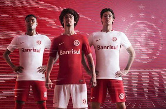 Ceci est le nouveau Maillot de foot SC Internacional pour la saison 2016/2017: