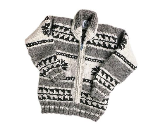Grandpa sweater from Canadian Sweater Company...so expensive tho!