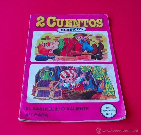 2 CUENTOS CLÁSICOS - SERIE RENACIMIENTO Nº 3 - EL SASTRECILLO VALIENTE Y ALÍ-BABÁ 1981
