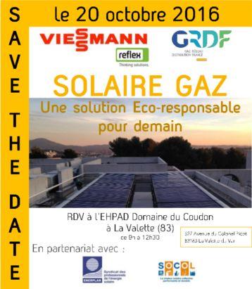 Visite installation solaire thermique sur un Ehpad