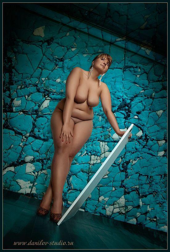 Russian curvy models, plus size beauty : Photo