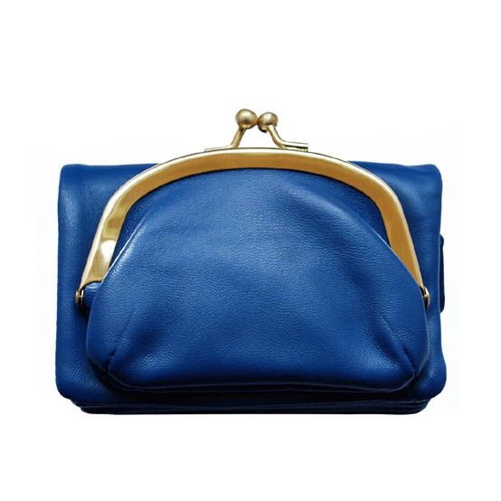 Portefeuille PURSE bleu
