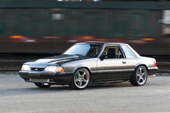 1990 Mustang SSP This Special Service Package optioned