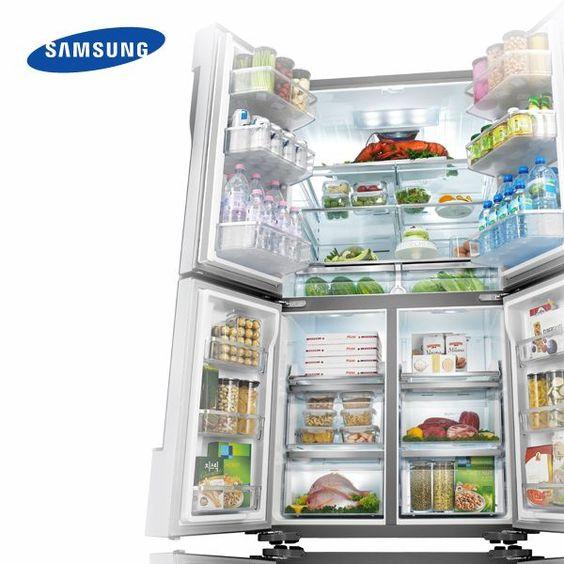 ¿Qué tal un toque cool y elegante para la cocina? Descubran todo un mundo de posibilidades con Samsung.