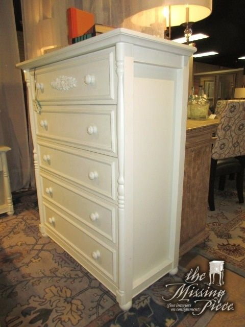 Cafe Kid Chest Of Drawers In Cream, Cafe Kids Furniture