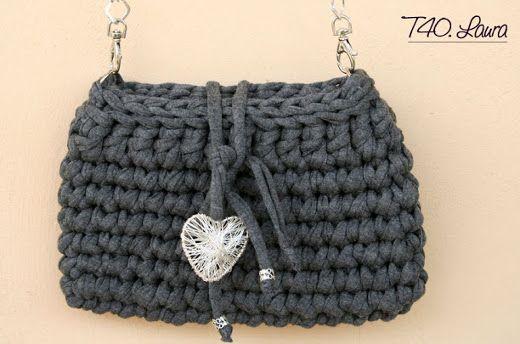 Trapillo patrones and bags on pinterest - Como hacer trapillo ...