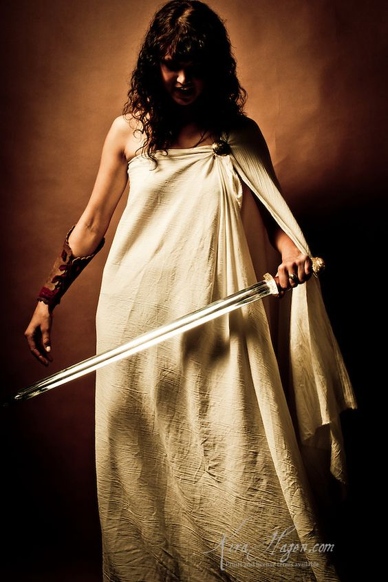 Greek Woman Warrior Spartan women were tra...