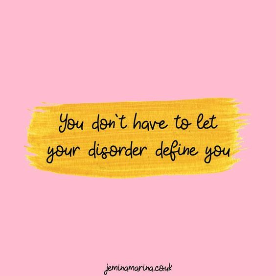 Jemina Marina - A Trichotillomania Lifestyle Blog #mentalhealthjournal You are not your mental illness, disorder, or physical ailment