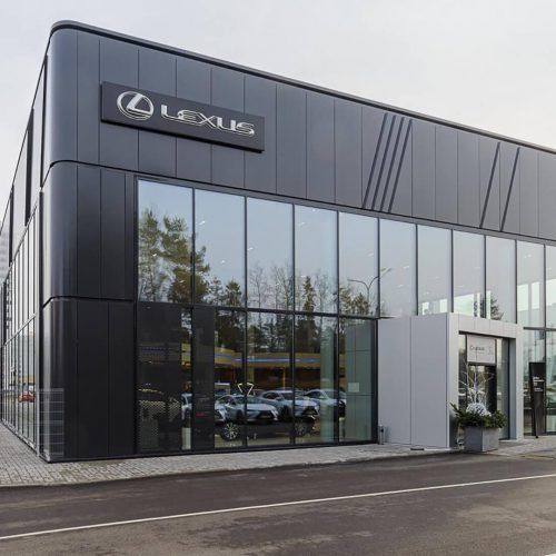 Car Dealerships Toyota Lexus Varabyeu Partners Car Dealership Car Showroom Dealership