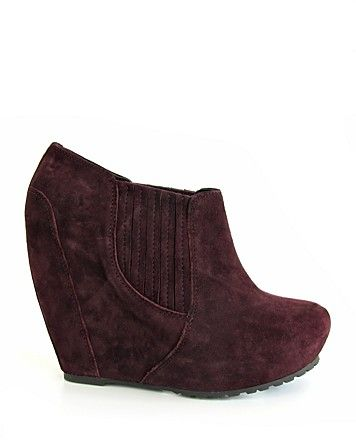 Luxury Rebel Wedge Booties- just bought these- so comfortable!