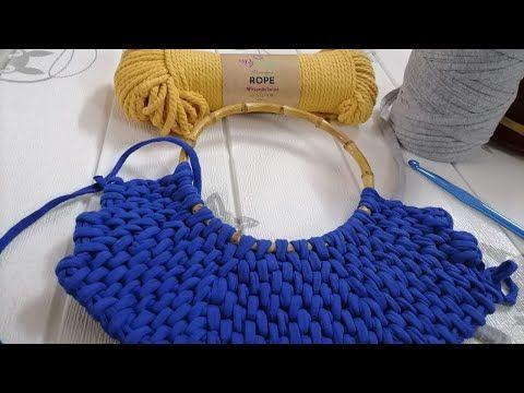حقيبة كروشية مقبض خشبي الغرزة الانيقة في شنطة بشكل مختلف Retwest Crochet Youtube In 2021 Straw Bag Merino Wool Blanket Wool