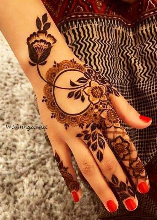 Simple Mehndi Design Latest Arabic Mehndi Designs New Mehndi