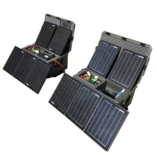 Ultimate Tactical Solar Power Generator Kit Lithium Solar Heating Solar Energy Panels Photovoltaic