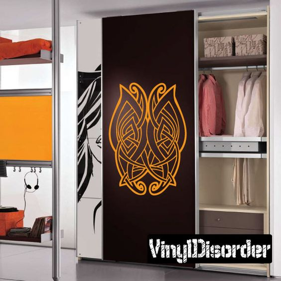 Celtic Wall Decal - Vinyl Decal - Car Decal - DC 8292