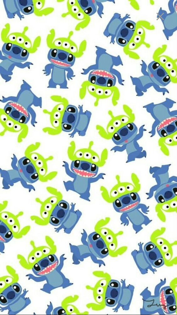 Little Green Men iPhone 5 Wallpaper: