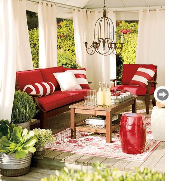 Living spaces outdoor living and outdoor on pinterest for Room design outside