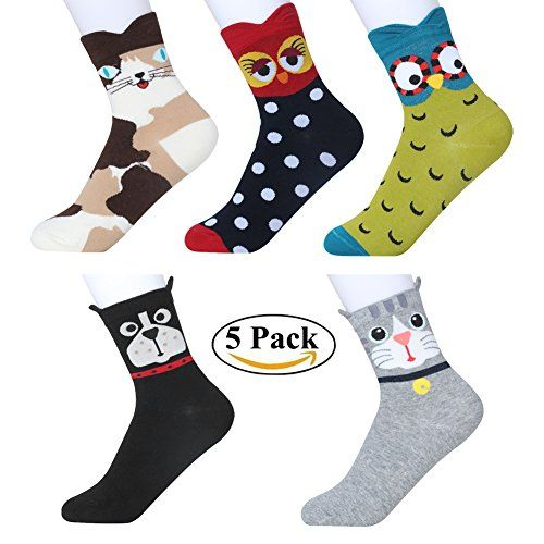 Unisex High Ankle Cushion Crew Socks Fashion Panda Casual Sport Socks