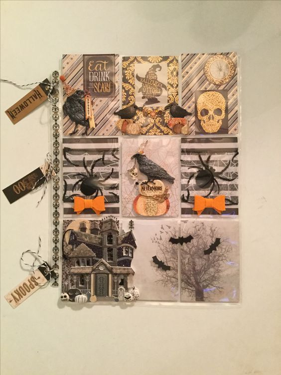 Halloween Theme pocket letter created by Brittany Mitchell!!!!!