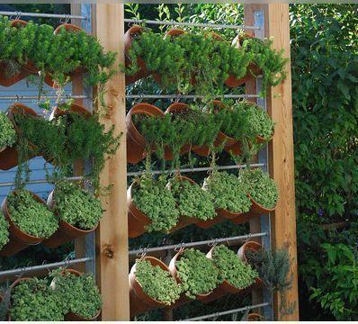 Huertas caseras y jardines verticales dimensionad for Antorchas para jardin caseras