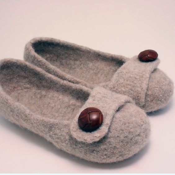 knitted and felted slipper pattern on etsy..