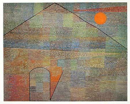 Paul Klee - Ad Parnassum, 1932 - Kunstdruck Poster