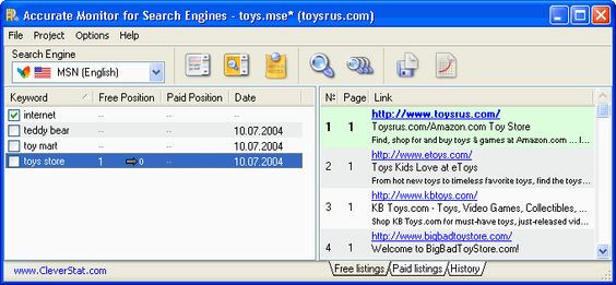 For search engines is probably the most comprehensive search engine