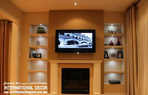 built-in-corner-shelves-of-plasterboard-for-tv-wall.jpg 794 × 508 bildepunkter