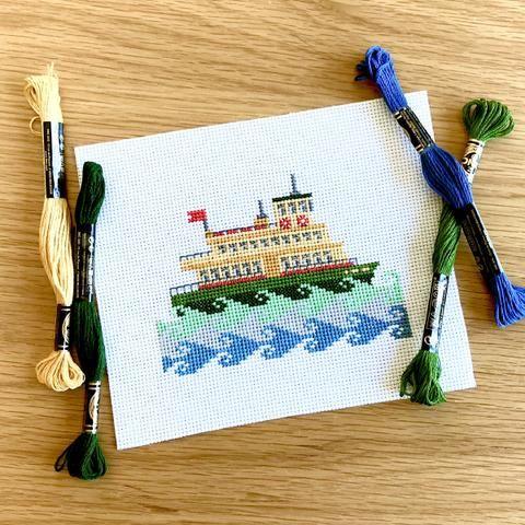 Sydney Ferry Kit Cross Stitch Cross Stitch Kit Cross Stitch