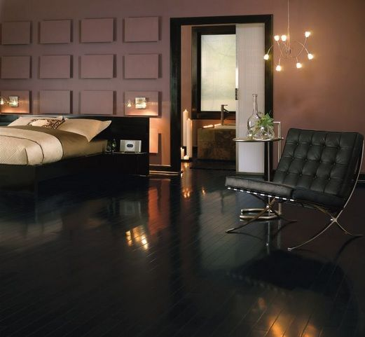 Wood Flooring With High Gloss Finish