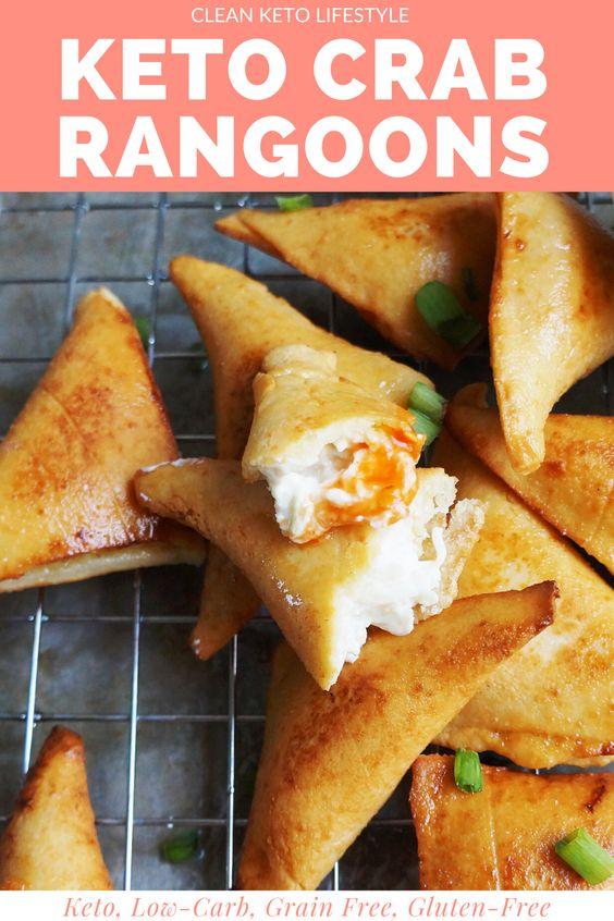 Keto Crab Rangoons