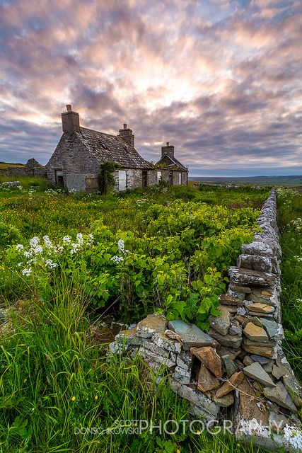 Scotland Cottages And A House On Pinterest