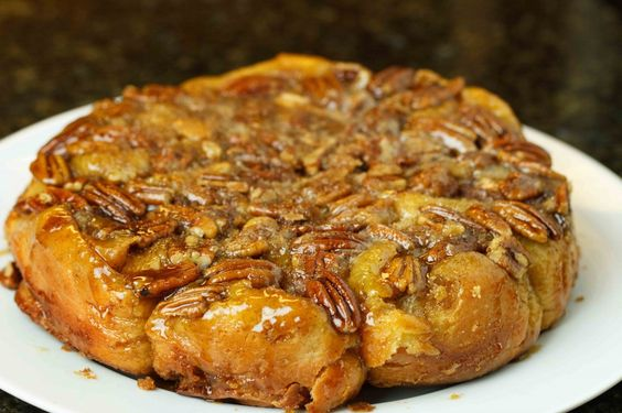 Pecan Caramel Rolls from the easiest Brioche dough you will ever make: