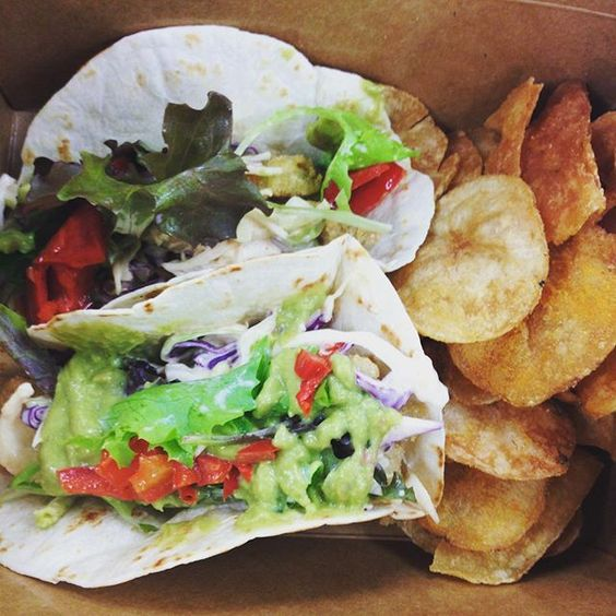 #TacoTuesday coming at you! Today's is a #Manitoba pickerel taco with a side of fresh kettle chips. Doors open at 1130!