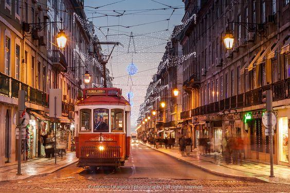 @ Baixa, Lisboa (Christmas 2013) by António Laranjeira on 500px