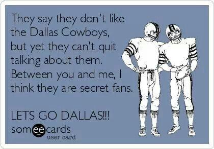 True!★★Dallas Cowboys! Haters! Who Won? ツ CowboyzBaby!★★★★★★
