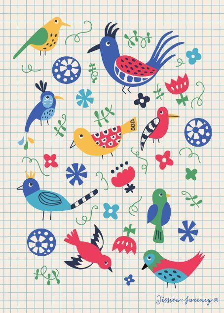 Jessica Sweeney Illustration & surface design