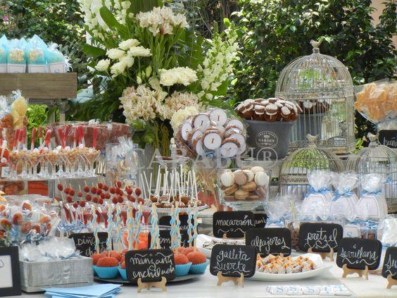 Mesa de dulces primera comuni n tablones para fiestas for Mesas dulces para comunion