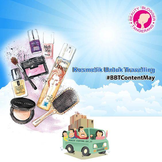 Beauty Blogger Tangerang Kosmetik Untuk Travelling
