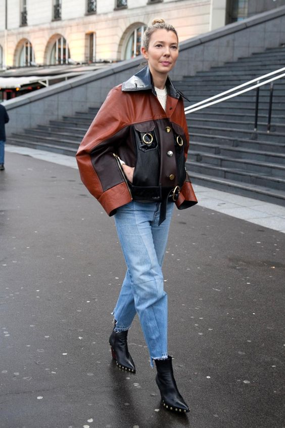 On the street at Paris Fashion Week. Photo: Emily Malan/Fashionista.: