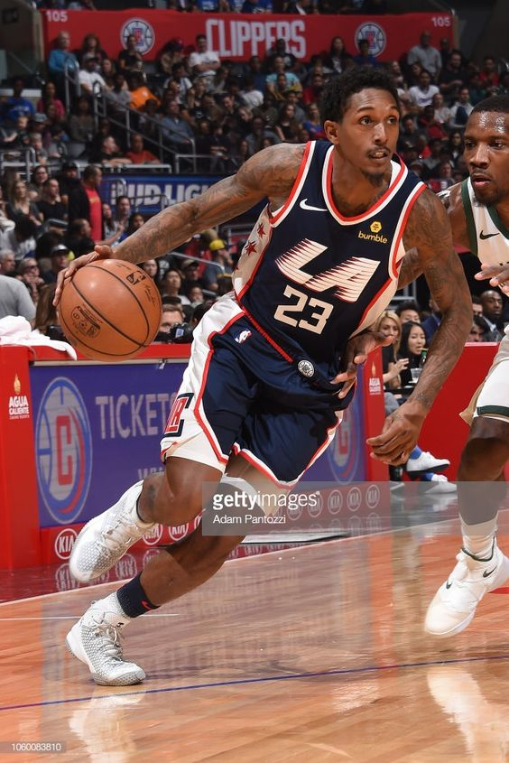 Lou Williams Of The La Clippers Handles The Ball Against The Lou Williams La Clippers Los Angeles Clippers