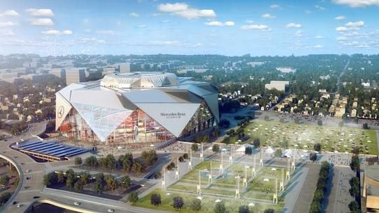 Atlanta's Mercedes-Benz Stadium to be NFL's First-Ever LEED Platinum Venue