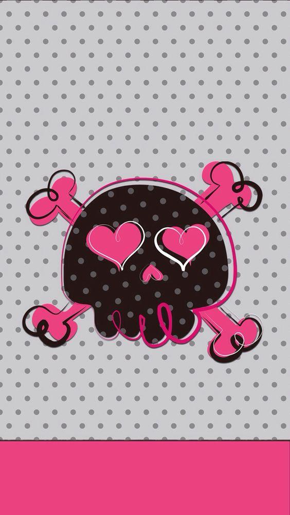 skull wallpaper gi...