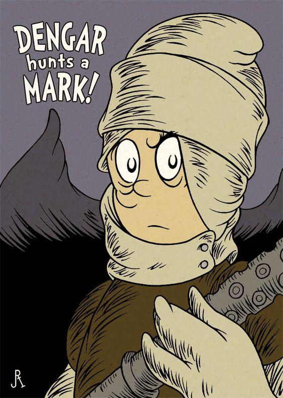 Dengar Hunts a Mark! by *DrFaustusAU