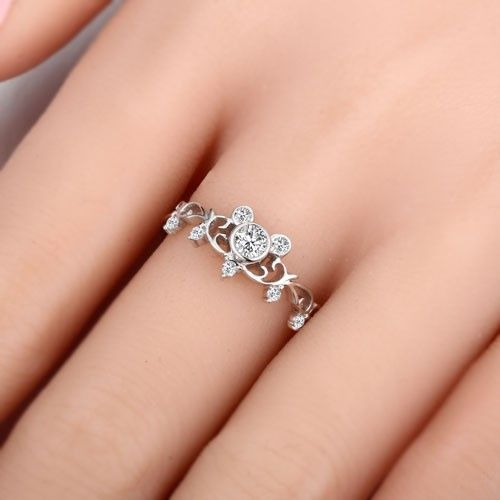 Mickey Mouse Ring Perfect For Valentine's Day!